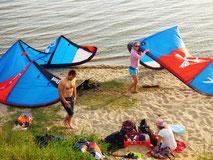 Kitesurfing lernen an der Ostsee in deiner Kiteschule Ostsee Oceanblue Watersports