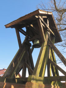 Glockenstuhl Kirche Priepert