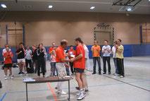 Siegerehrung Stadtmeisterschaften 2077 Doppel Senioren