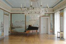 Festsaal des münsterländischen Wasserschlosses Haus Stapel in Havixbeck