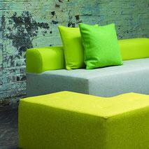 Trendige Polsterstoffe von Kirkby Design