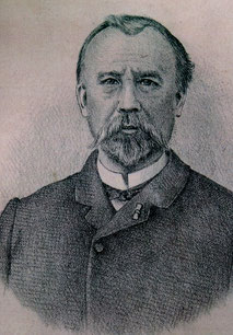 Alcius Ledieu à la fin de sa vie, vers 1910.