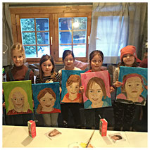 Zelfportret schilderen