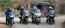 Relais à Forcalquier en Provence pour les Motos