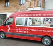 Fahrzeug, Schreinerei Lagler in Flintsbach am Inn