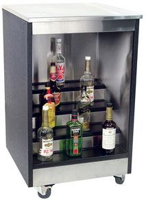 Mobiler Flaschenschrank fürs Catering
