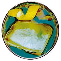 Abtropffläche für die Gastronomie in Edelstahl mit Glasdusche