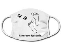 Gesichtsmaske, Schutzmaske für Hundefreunde