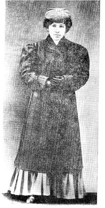 Жена и соратник А.А. Семенова, Н.П. Семенова