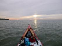 Auf der Nordsee vor Cuxhaven