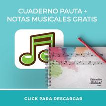 Descarga gratis cuaderno pauta para profesores de música imprimir material didáctico aula360