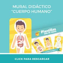 Descargar material imprimible cuerpo humano revista aula360