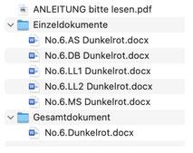 Dateistruktur