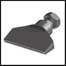 Flachdüse Schlitz 70x1,0mm  gerader Strahl  (2-DU-SL-76-GS-1.0)