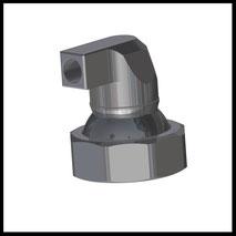 Düse 90° Bohrung 1x Ø6,0mm  (2-DU-LL-90-1-6)