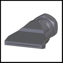 Flachdüse Schlitz 35x0,4mm  gerader Strahl  (2-DU-SL-50-GS-0.4)