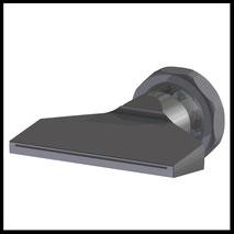 Flachdüse Schlitz 70x0,4mm  gerader Strahl  (3-DU-SL-76-GS-0.4)