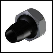 Kunststoffdüse  Ø10,0mm  (KU-2-DU-10)