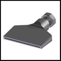 Flachdüse Schlitz 81x2,0mm  gerader Strahl  (2-DU-SL-87-GS)