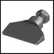 Flachdüse Schlitz 70x2,0mm  gerader Strahl  (2-DU-SL-76-GS)