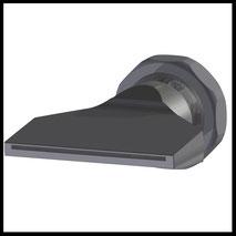 Flachdüse Schlitz 58x1,0mm  gerader Strahl  (3-DU-SL-65-GS-1.0)