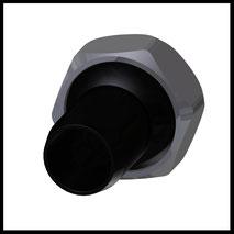 Kunststoffdüse  Ø12,0mm  (KU-2-DU-12)