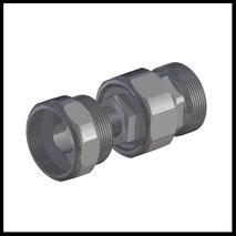 Zwischenelement mit fester  Position / Schnellkupplung  (1-FP)