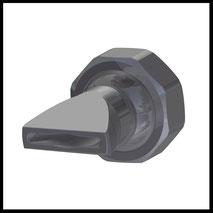 Flachdüse Schlitz 20x2,5mm  Streustrahl  (2-DU-SL-25-SS)