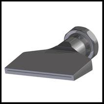 Flachdüse Schlitz 81x0,6mm  gerader Strahl  (3-DU-SL-87-GS-0.6)