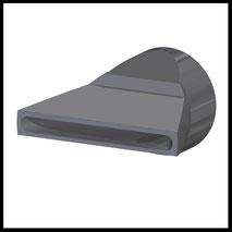 Flachdüse Schlitz 45x4,2mm  Streustrahl  (2-DU-SL-50)