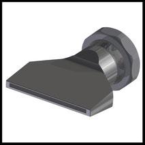 Flachdüse Schlitz 58x2,0mm  gerader Strahl  (3-DU-SL-65-GS)