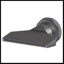 Flachdüse Schlitz 70x2,0mm  gerader Strahl  (3-DU-SL-76-GS)