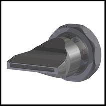 Flachdüse Schlitz 35x2,2mm  gerader Strahl  (3-DU-SL-50-GS)