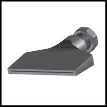 Flachdüse Schlitz 81x1,2mm  gerader Strahl  (2-DU-SL-87-GS-1.2)