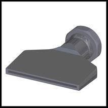 Flachdüse Schlitz 81x2,0mm  gerader Strahl  (3-DU-SL-87-GS)