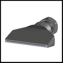Flachdüse Schlitz 58x0,4mm  gerader Strahl  (2-DU-SL-65-GS-0.4)