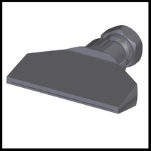 Flachdüse Schlitz 70x0,4mm  gerader Strahl  (2-DU-SL-76-GS-0.4)