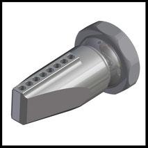 Düse 90° Bohrungen  8x Ø4,0mm  (3-DU-LL-90-8)