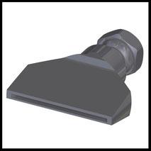 Flachdüse Schlitz 58x2,0mm  gerader Strahl  (2-DU-SL-65-GS)