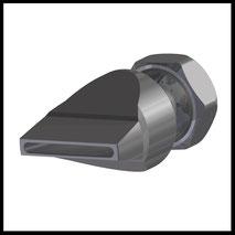 Flachdüse Schlitz 28x2,5mm  gerader Strahl  (2-DU-SL-31-GS)