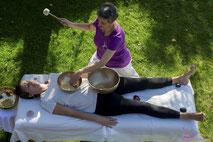 relaxation sonores, bols tibétains, siestes sonores, chakras, bien-être, sons qui guérissent