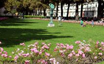 Gartenstadt Ceciliengärten in Schöneberg. Foto: Helga Karl