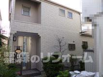 松戸市外壁塗装リフォーム、外壁タイル貼付リフォーム