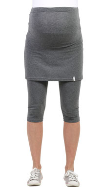 gray maternity leggings