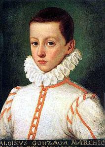 San Luis Gonzaga, patrón de la juventud católica y la pureza.