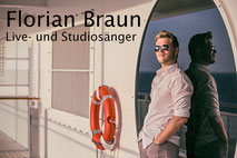 Florian Braun - Sänger für Hochzeiten und Studiosänger