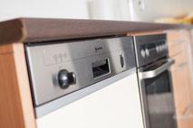 Ferienwohnung mit Geschirrspülmaschine