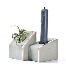 Concrete Copper Air Plant Holder House by PASiNGA