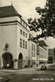 Uni-Bibliothek um 1955 - Foto Sammlung Henning Stoffers
