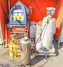 フロン回収機